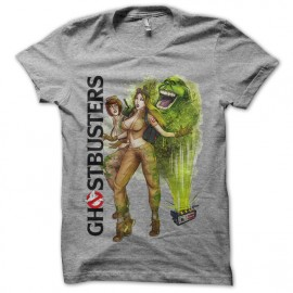 Tee shirt Ghosbusters Girls gris