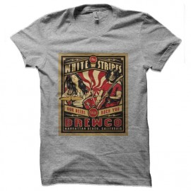 tee shirt white stripes beer