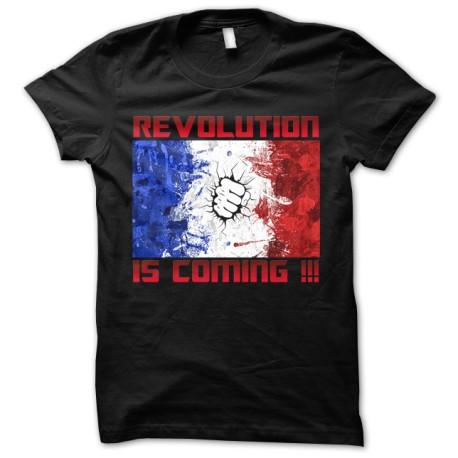tee shirt revolution noir
