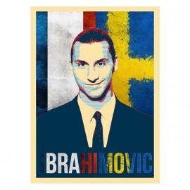 tee shirt Ibrahimovic blanc