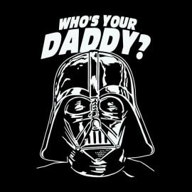 tee shirt dark vador daddy