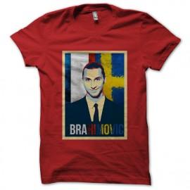 tee shirt Ibrahimovic rouge