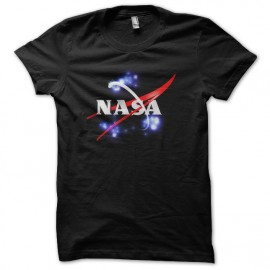 tee shirt nasa ovnis noir
