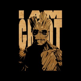 tee shirt i am groot guardiens de la galaxie