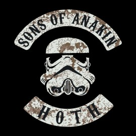 tee shirt sons of anakin hoth star wars