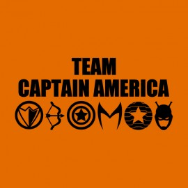 tee shirt team captain america