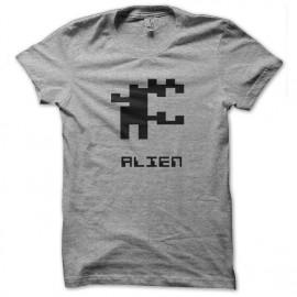 tee shirt alien symbole pixel