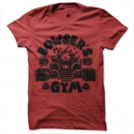 tee shirt bowser gym nintendo