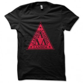 tee shirt lambda nerds les tronches