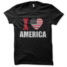 tee shirt i love america
