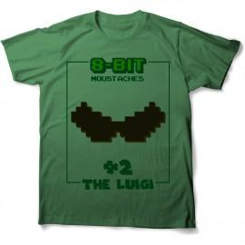 tee shirt 8 bits luigi pour enfants et adultes