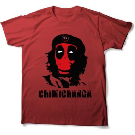 tee shirt chimichanga che guevara deadpool