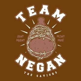 tee shirt walking dead team negan