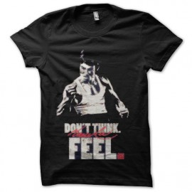 tee shirt bruce lee feel it