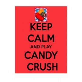 grenouillere keep calm candy crush pour bebe