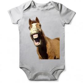 grenouillere cheval fun pour bebe