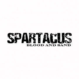 Tee shirt Spartacus noir/blanc