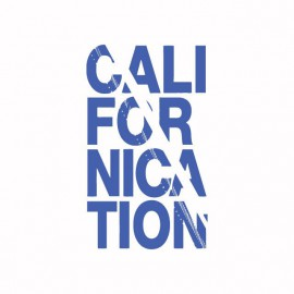 Tee shirt Californication bleu/blanc