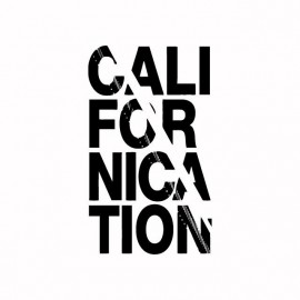 Tee shirt Californication noir/blanc