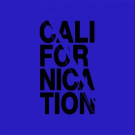 Tee shirt Californication noir/bleu royal