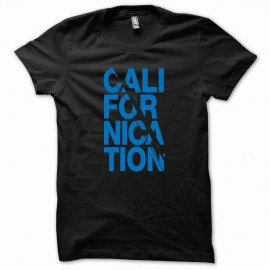 Tee shirt Californication bleu/noir