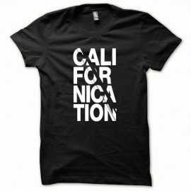 Tee shirt Californication blanc/noir