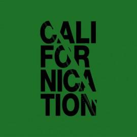 Tee shirt Californication noir/vert bouteille