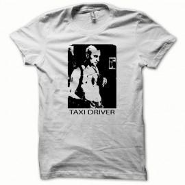 Tee shirt Taxi Driver noir/blanc mixtes tous ages