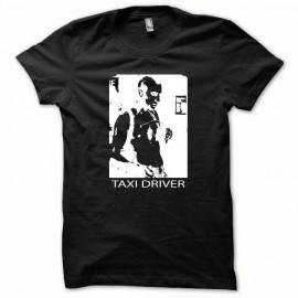 Tee shirt Taxi Driver blanc/noir mixtes tous ages